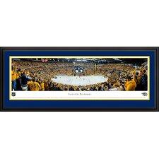 NHL Nashville Predators - Playoffs Deluxe Framed Photographic Print