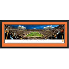 """NCAA University of Tennessee - Power """"T"""" by James Blakeway Framed Photographic Print"""