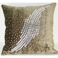 Galaxy Velvet Throw Pillow