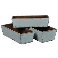 Rectangular Planter Box (Set of 3)
