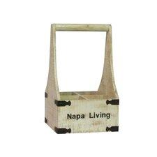 Napa Living 4 Bottle Wine Holder