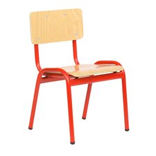 "20.9"" Wood Classroom Chair"