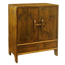 Vintage Dongbei Style 2 Door Cabinet