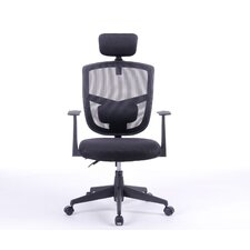 """Justinian 35.5"""" Adjustable Office Chair with Arms"""