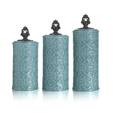 Devi 3-Piece Canister Set