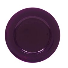 """13"""" Round Charger Plate (Set of 8)"""