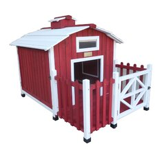 The Country Barn Dog House