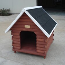 The Mountain Cabin Dog House