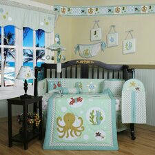 Boutique Sea World Animal 13 Piece Crib Bedding Set