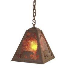 Bear 1 Light Outdoor Hanging Lantern