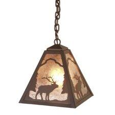 Elk 1 Light Outdoor Hanging Lantern