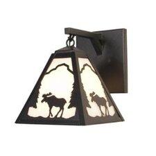 Moose Timber Ridge Hanging 1 Light Wall Sconce