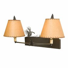 Pinecone Swing Arm Wall Sconce