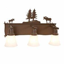 Moose 3 Light Vanity Light