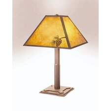"""Mission 26"""" H Table Lamp with Empire Shade"""