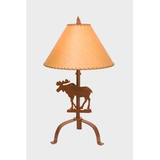 """Moose 31"""" H Table Lamp with Empire Shade"""