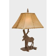 """Moose Shasta 22"""" H Table Lamp with Empire Shade"""