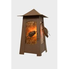 Ponderosa Pine 1 Light Wall Lantern