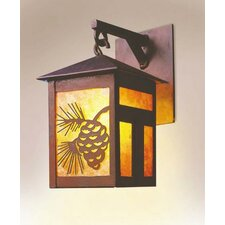 Mission Small Hanging 1 Light Wall Sconce