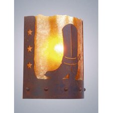 Spur of the Moment Timber Ridge 1 Light Wall Sconce