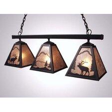 Elk Triple Anacosti Light Pendant