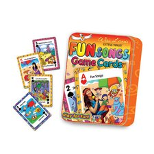 Little Yogis Kids Fun Songs Game Cards (Set of 2)