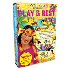 Little Yogis Kids Play and Rest DVD Twin Pack