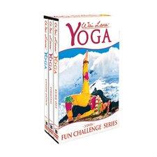 Yoga Fun Challenge DVD Tripack