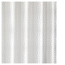 Mosaic PEVA Wave Shower Curtain
