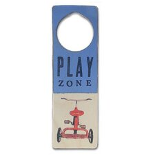 """Play Zone"" Door Hanger"