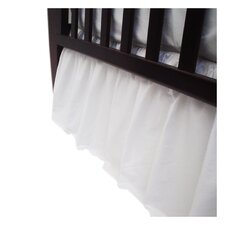 Percale Cotton Dust Ruffle