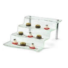 Cristal 4 Step Appetizer Waterfall Tiered Stand