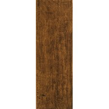 "Colonial Wood6"" x 20"" Ceramic Wood Tile in Pecan"