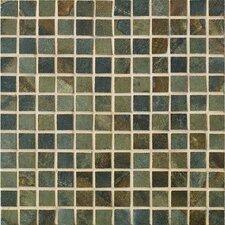 "Jade 1"" x 1"" Porcelain Mosaic Tile in Sage"