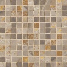 """Jade 1"""" x 1"""" Porcelain Mosaic Tile in Taupe"""