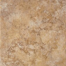 "Tosca 13"" x 13"" Porcelain Field Tile in Noce"