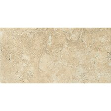 "Artea Stone 6.5"" x 13"" Porcelain Field Tile in Avorio"