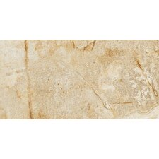 "Vesale Stone 10"" x 20"" Porcelain Tile in Sand"