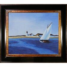 The Long Leg Canvas Art by Edward Hopper Modern