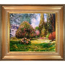 Il Parco Monceau by Monet Framed Hand Painted Oil on Canvas