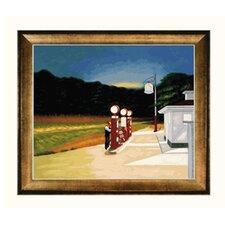 Hopper Gas, 1940 Canvas Art