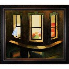 Hopper Night Windows Canvas Art