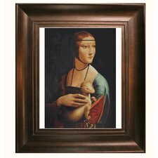 Da Vinci Lady with an Ermine Canvas Art