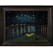 Van Gogh Starry Night Over the Rhone Canvas Art