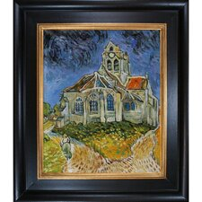 The Church at Auvers by Van Gogh Framed Hand Painted Oil on Canvas