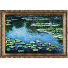 Water Lilies by Monet Framed Original Painting
