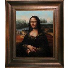 Da Vinci Mona Lisa Hand Painted Oil on Canvas Wall Art