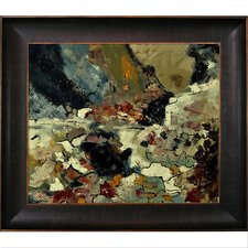 Ledent - Abstract 8821902 Framed, High Quality Print on Canvas