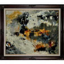 Ledent - Abstract 88211131 Framed, High Quality Print on Canvas