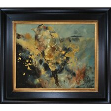Ledent - Abstract 8821015 Framed, High Quality Print on Canvas